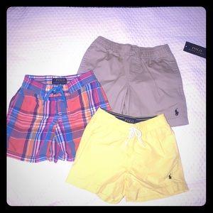 Trio of Toddler Ralph Lauren Shorts